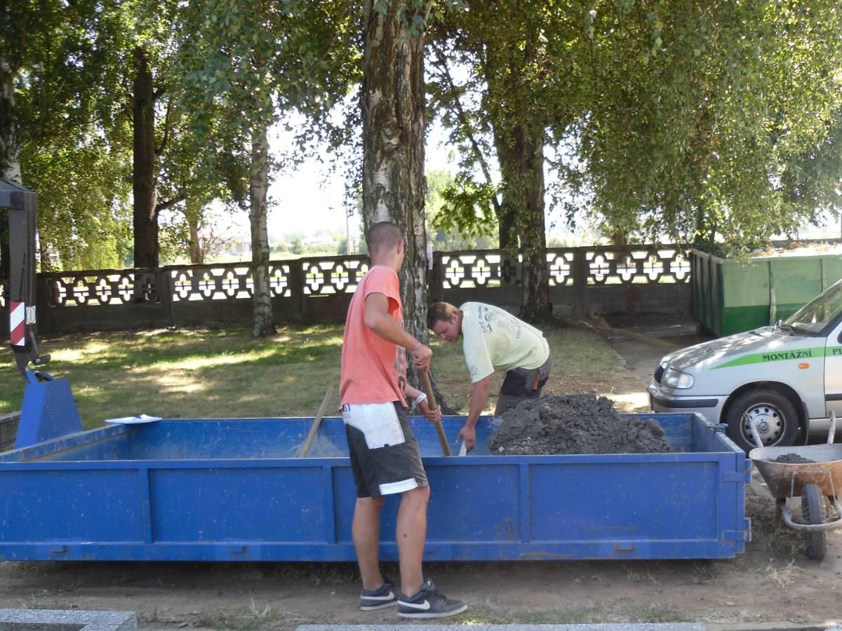 kontejner Montáže EPZ s.r.o., Spytihněv